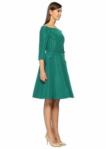 Oscar de la Renta Elbise Yeşil